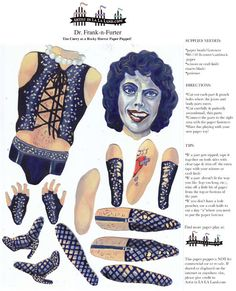 Dr. Frank-n-Furter Rocky Horror Picture Show by FamousArtistsClub