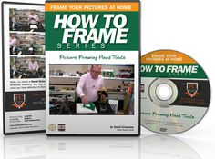 What types of Picture Framing Hand Tools do custom framers use when building picture frames. How to Frame DVD series from the Framer's Club