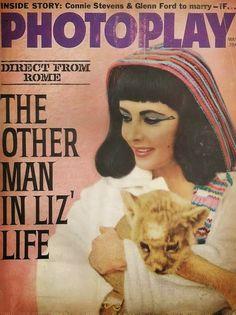 Hollywood Cinema, Hooray For Hollywood, Old Hollywood, Star Magazine, Movie Magazine, Hollywood Magazine, Connie Stevens, British American, Elizabeth Taylor