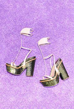 Les chaussures du défilé Dior haute couture automne-hiver 2015-2016 7