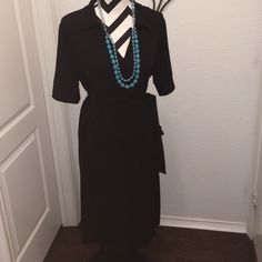 """Spotted while shopping on Poshmark: """"Faux Wrap Dress by George size XL 16/18""""! #poshmark #fashion #shopping #style #George #Dresses & Skirts"""