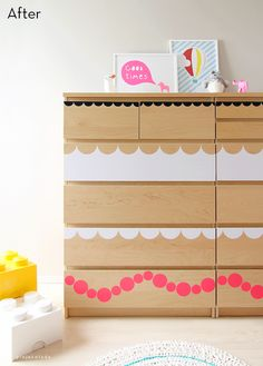 Before and After: A Playful, Budget-Friendly Dresser Makeover