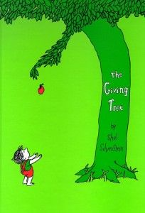 The Giving Tree, One of my favorite books