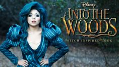Into the Woods' Witch Inspired Look - YouTube