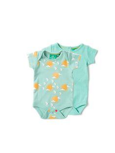 Little Green Radicals Organic Midnight Jungle Peter Pan robe 9 12 18 24 1 2