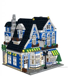Alpine Village Cafe Instructions - Brickbuilderspro Store