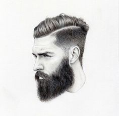 Image result for sketch of strong wilderness man with moustache