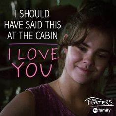 """S3 Ep10 """"Lucky"""" - Aw, all the #Brallie feels! ❤️#TheFosters"""