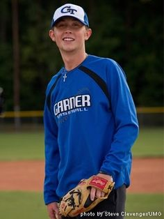 he makes a precious baseball player..