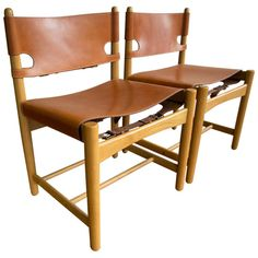 1stdibs.com | Børge Mogensen Model 3237 & 3238 Dining Chairs