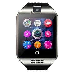 SmartWatch Bluetooth smart watch support SIM TF card pedometer Android music player for smart phone Huawei xiaomi Samsung Android Wear, Android Watch, Android Smartphone, Android Camera, Android Music, Camera Apps, Android Phones, Samsung Galaxy S6, Galaxy S3