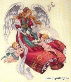 Angel of Peace - 1/5 Solo Patrones Punto Cruz | Aprender manualidades es facilisimo.com