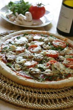 Arugula-Tomato Pizza [Ingredients, Inc.]