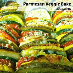 Parmesan Veggie Bake | Blogghetti
