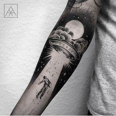 Tattoo by @maxvorax ___ www.EQUILΔTTERΔ.com ___ #Equilattera