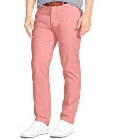 Polo Ralph Lauren Classic-Fit Flat-Front Chino Pants Pantsuits For Women,  Dress d09982ec77