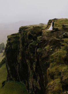 """Iceland Elopement."" Photo Credit: Nirav Patel. From Green Wedding Shoes."