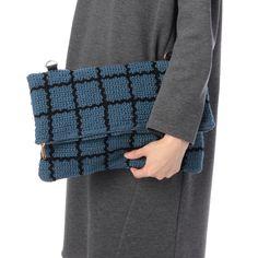 AG by aquagirl crochet bag Tapestry Bag, Tapestry Crochet, Knit Crochet, Knitted Bags, Knit Bag, Crochet Purses, Pouch, Wool, Hemp