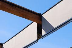 Upper Deck   Roof Deck   Urban   Garden   Landscape Design   Pergola   Closed Retractable Shade