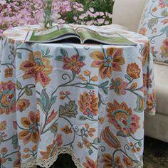 Linen tablecloth from moslembazaar.com