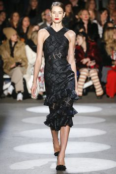 Christian Siriano Fall 2016 Ready-to-Wear Fashion Show