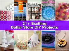 Dollar Store Fun Projects