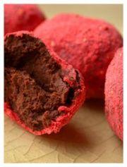 Strawberry Balsamic Truffles