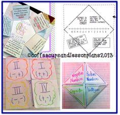 Using Interactive Math Notebooks Throw Down Thursday