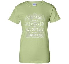 Vintage Age 50 Years 1966 Perfect 50th Birthday Gift T-Shirt