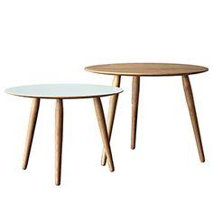 CASANOVA Møbler — Bruunmunch - PLAYround - Sofabord - eg (sæt af 2)