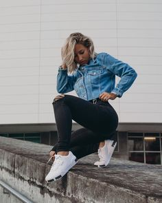 Tomboy Outfits, Cool Outfits, Summer Outfits, Casual Outfits, Fashion Outfits, Puma Outfit, Puma Cali, Justiz, European Summer