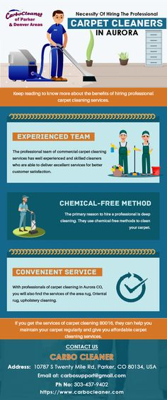 Here at Carbo Cleaner, we have a well experienced and skilled cleaner. So if you want to get carpet cleaning service then we can help you maintain your carpet regularly and give you affordable carpet cleaning service. Commercial Carpet Cleaning, Carpet Cleaning Company, Affordable Carpet, Denver Area, Professional Carpet Cleaning, Carpet Cleaners, Cleaning Service, How To Clean Carpet, Restoration