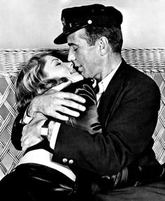 Lauren Bacall | Lauren Bacall's breakout role paired her with her partner Humphrey Bogart in scenes (and in marriage until his death in 1957). Like many of the