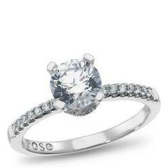 Passion Stone, 14K White Gold Bridal Semi Mount, 1/5 ctw. Samuels Jewelers