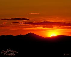 Presidential Sunset by Shared Perspectives Photography