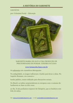 A história do sabonete by Lucia Motta Artesã via slideshare PDF Disponível para ler e baixar