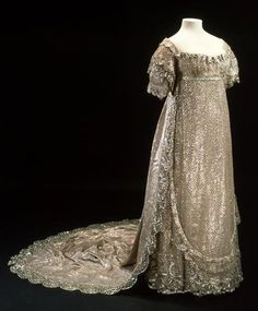 1800's period clothing | Video: A History of Royal Wedding Dresses