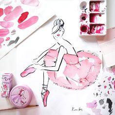 Kerrie Hess - Fashion Ilustrator