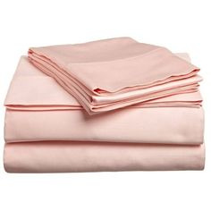 Impressions 300 Sheet Set Egyptian Cotton Solid ($77) ❤ liked on Polyvore featuring home, bed & bath, bedding, bed sheets, fillers, peach, twin xl bedding, queen sheet sets, king pillowcases and california king fitted sheet