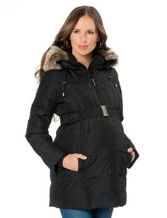 Maternity Winter Coat