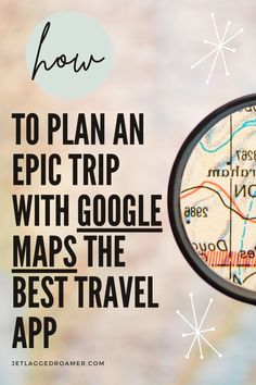Planning a trip? Find out the best travel app to make trip planning a breeze. After reading this post you will know all the travel tips to using Google maps for easy travel planning. Get the travel tips and tricks to using this best travel app right here. Google Maps // Trip Planning // Travel Hacks // Travel Tips // Travel Hacks And Tips // Travel Apps Best Travel Apps, Travel Hacks, Travel Tips, Airplane Travel, Travel Planner, Step Guide, Trip Planning, Maps, Life Hacks