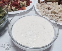 salsa de yogurt Kebab - Receta original de myTaste Salsa Barbacoa Casera, Salsa Tzatziki, Yogurt, Sugar, Hummus, Chicken Kebab, Blue Cheese Sauce, One Pot Dinners, Easy Cooking