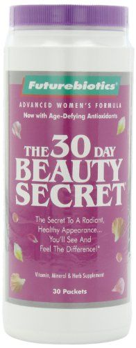 Futurebiotics 30 Day Beauty Secret, 30-Count * Learn more by visiting the image link.