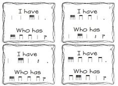 I have who has game.   I have a simpler version of this for 1-2 but it's nice to have a harder one for the upper grades.