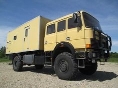 Iveco Magirus 160-23AHW 4x4 Wohnmobil-First Class als Mobilheim in Dresden