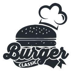 Burger logo logotype Transparent PNG & SVG vector Food logo design Burger Logo restaurant
