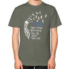 Dad wings Unisex T-Shirt (on man)