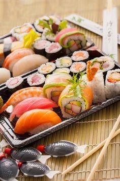 Étel fotózás a Leroy háza táján. Ínycsiklandozó Sushi válogatás.  http://zoomstudio.hu/termekfotozas-etelfotozas/