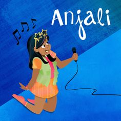 Anjali of Willowbrook Girls. She wants to star on Broadway one day.