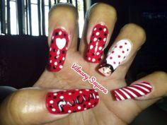 Pucca Nails, Beauty, Finger Nails, Beleza, Ongles, Nail, Nail Manicure